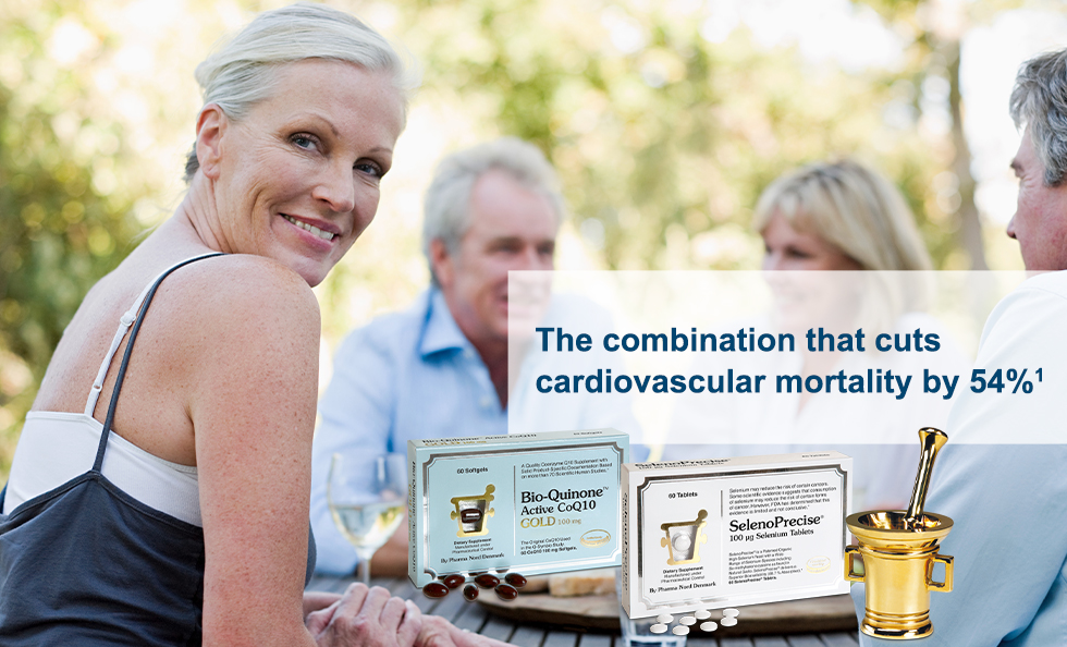 The combination that cuts cardiovascular mortality by 54%