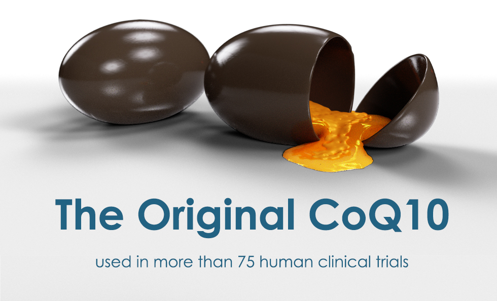 The original CoQ10 used in more than 75 human clinical trials